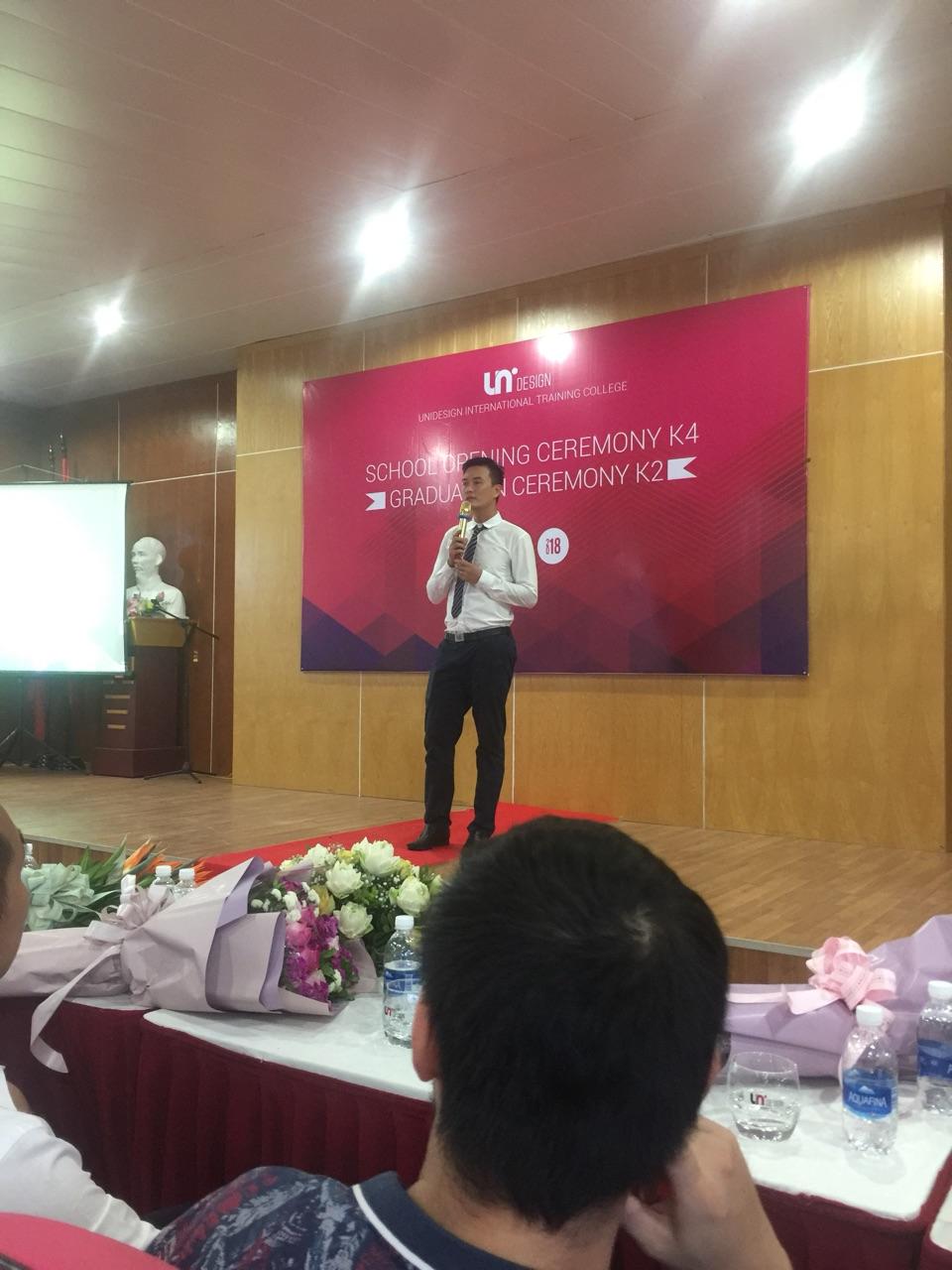 Jobnow đồng hành cùng Lễ khai giảng Unidesign