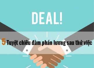 đàm phán tăng lương
