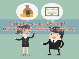 Lương gross và net là gì