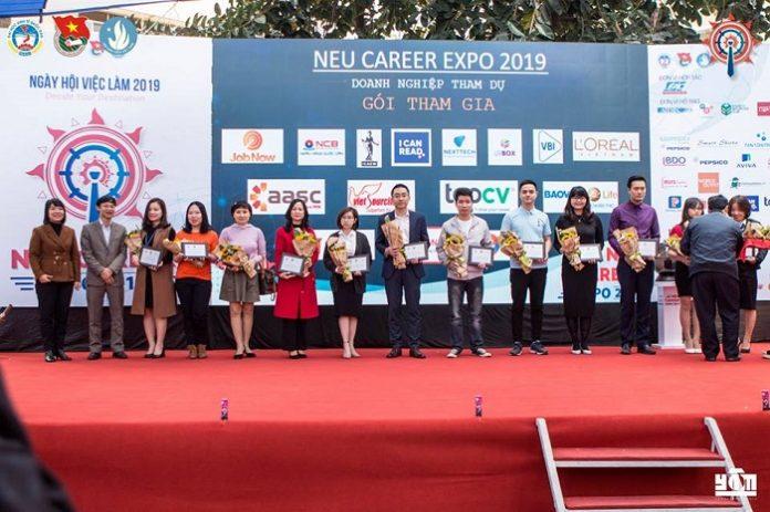 Các nhà tài trợ cho sự kiện NEU Career Expo 2019