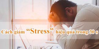 cách để giảm stress hiệu quả