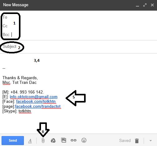Cách-viết-thông-tin-liên-hệ-trong-đơn-xin-việc-qua-email