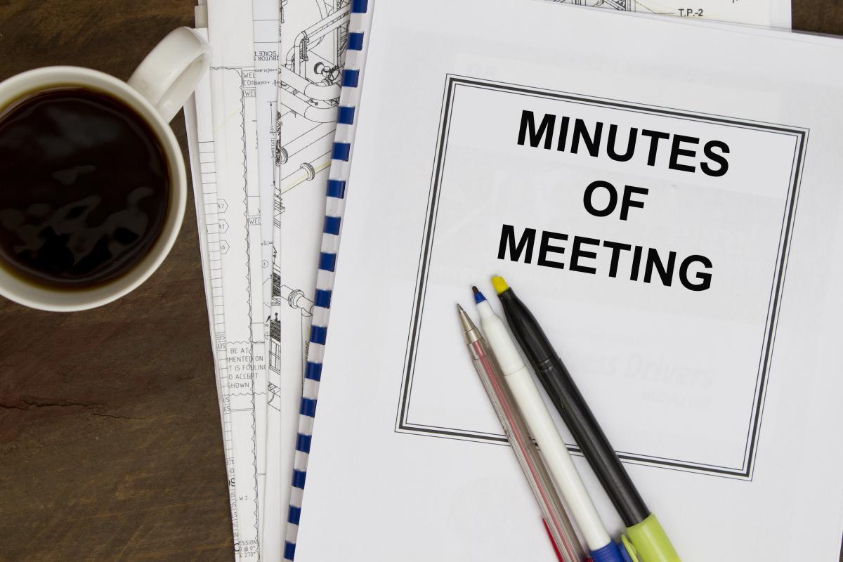 Mẫu biên bản cuộc họp hoàn hảo