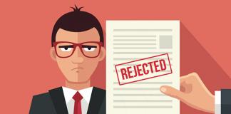 Mẫu thư từ chối ứng viên