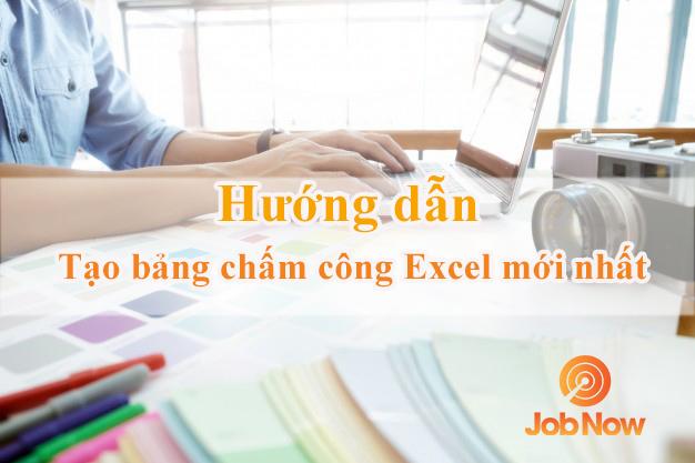 Cách tạo bảng chấm công hằng ngày bằng Excel