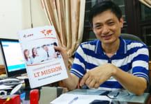 Ông Lê Khắc Hiệp, Giám đốc Công ty Cổ phần ADT Quốc tế giới thiệu về những sản phẩm dịch vụ của ADT.