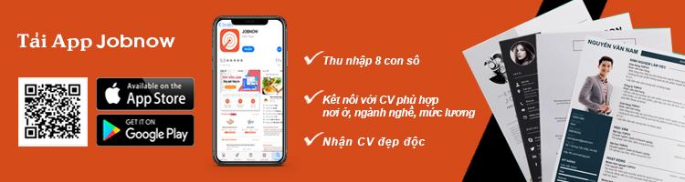 Tải app jobnow tìm việc làm hiệu quả