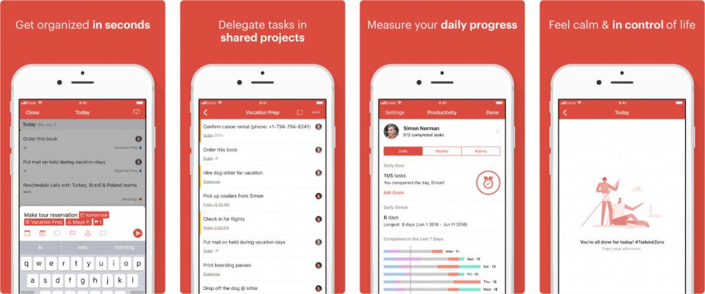 Todoist đang là phần mềm quản lý công việc cá nhân rất được ưa chuộng