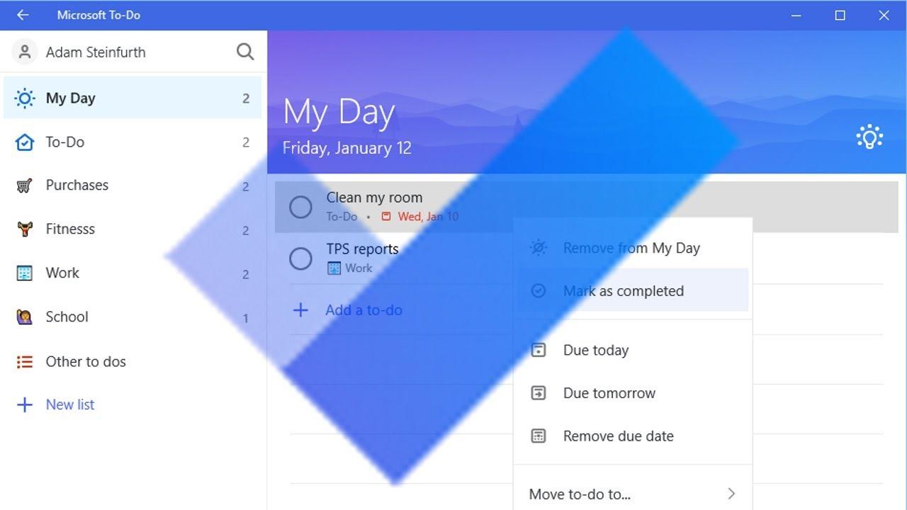 Tối ưu hóa công việc với Microsoft To Do
