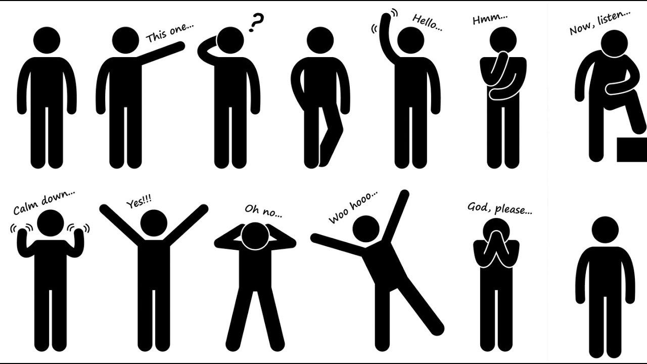 Một số ví dụ minh họa về ngôn ngữ cơ thể trong giao tiếp