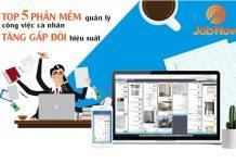 Phần mềm quản lý công việc hiệu quả