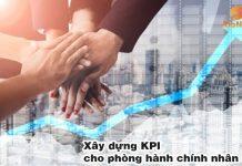 Xây dựng KPI cho phòng hành chính nhân sự