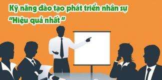 Kỹ năng đào tạo phát triển nhân sự