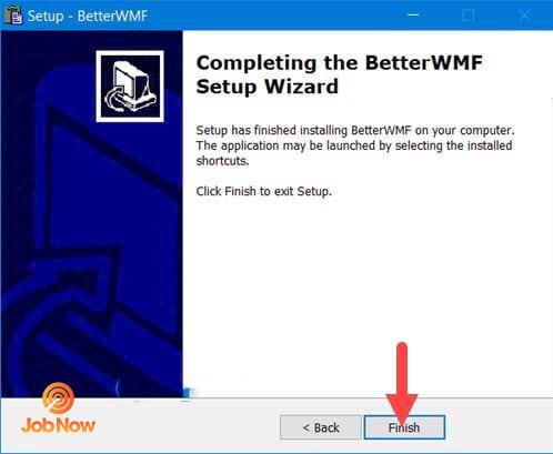 Kết thúc quá trình cài đặt phần mềm