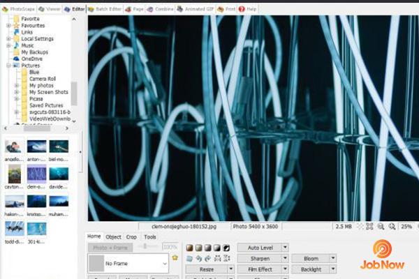 Phần mềm chỉnh sửa ảnh Photo Spape