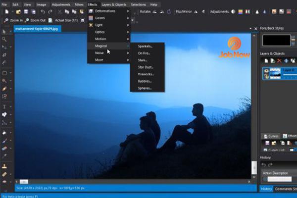 Phần mềm chỉnh sửa ảnh trên máy tính Photo Pos Pro