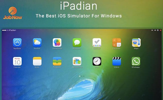 Phần mềm giả lập IOS Ipadian