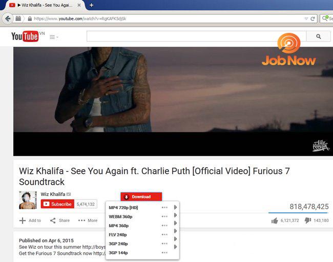 Tải video YouTube dễ dàng hơn trên Firefox