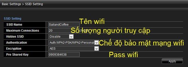 Cách đổi tên wifi viettel trên máy tính