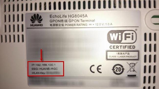 cách đổi mật khẩu wifi huewei VNPT modem trên máy tính