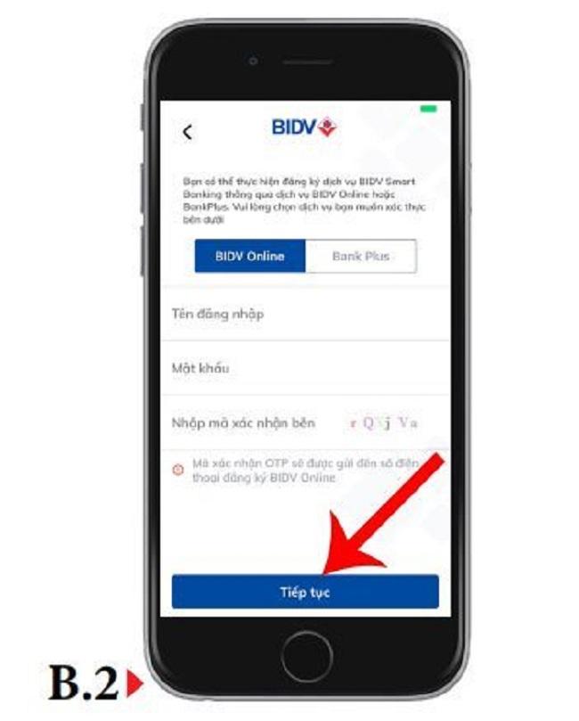 cách đăng ký BIDV internet banking online